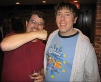 Aaron Wall (napravo) s Matt Cuttsom z Webspam oddelenia Google