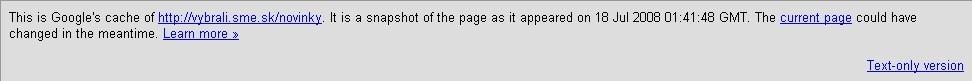 Novinky bez lomena na konci URL adresy