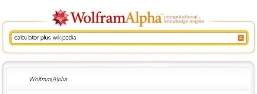 Kalkulačka + Wikipédia = Wolfram Alpha